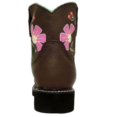 Justin Children's Gypsy Floral Light-Up Boot 9207JR - Wild West Boot Store - 4