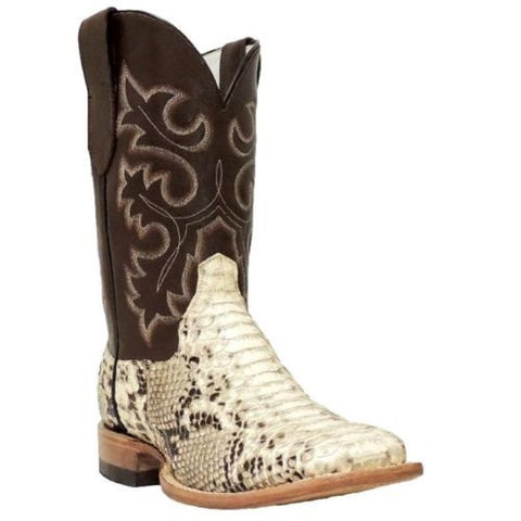 Cowtown Men's Square Toe Python Boot Q818 - Wild West Boot Store - 1