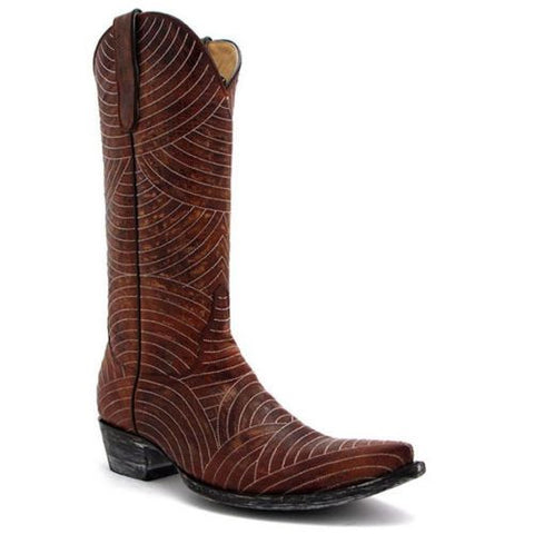 Yippee Ki Yay by Old Gringo Morena Brass Boot YL045-3 - Wild West Boot Store - 1
