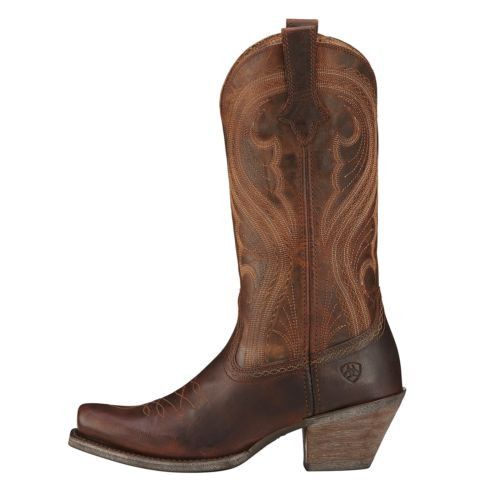 Ariat Ladies Lively Sassy Brown Boot 10016357 - Wild West Boot Store