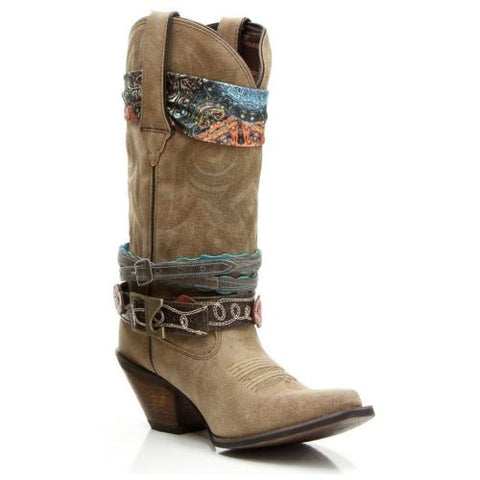 Durango Ladies Crush Brown Western Boot DCRD145 - Wild West Boot Store - 1