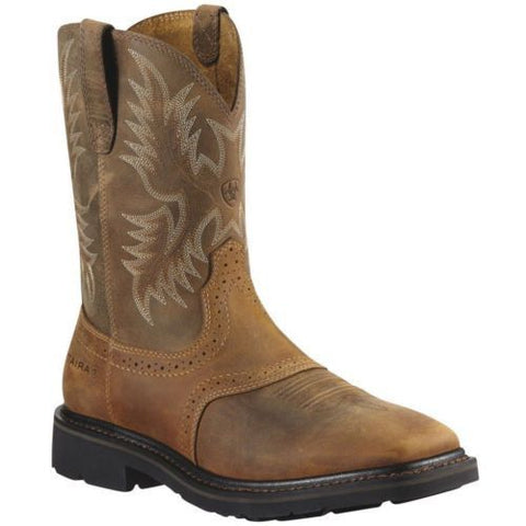 Ariat Men's Sierra Aged Bark Soft Toe Boots 10010148 - Wild West Boot Store