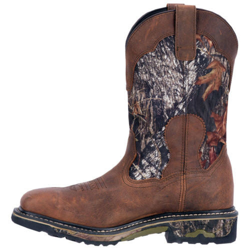 Dan Post Men's Brown/Camo Work Boot DP69408 - Wild West Boot Store - 2