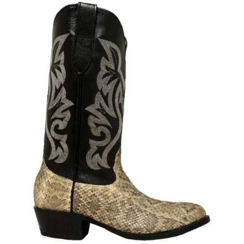 Cowtown Men's Rattlesnake Leather Western Boot W715 - Wild West Boot Store - 2