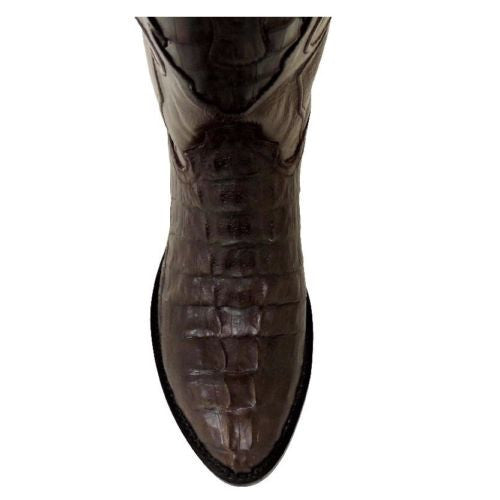 Cowtown Men's Brown Round Toe Caiman Boot W7475 - Wild West Boot Store - 5