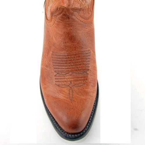 Lucchese Men's Since 1883 Crayton Tan Mad Dog Boots N1547.R4 - Wild West Boot Store - 2
