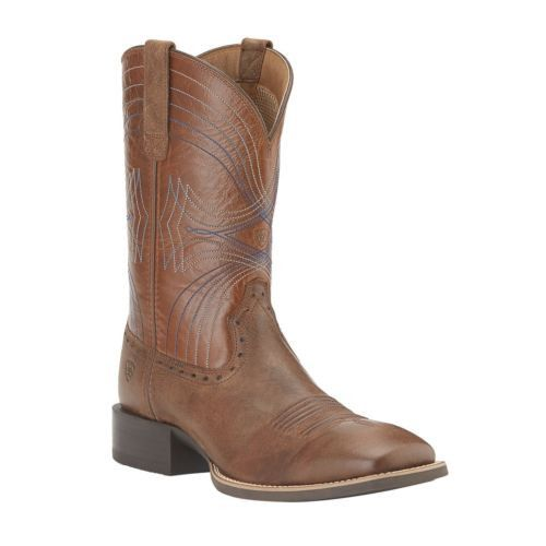 Ariat Men's Sport Wide Square Toe Sandstorm Boots 10015312 - Wild West Boot Store