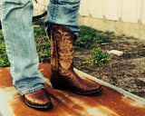 Tony Lama Men's Brown Ostrich Boot Y2696 - Wild West Boot Store - 6