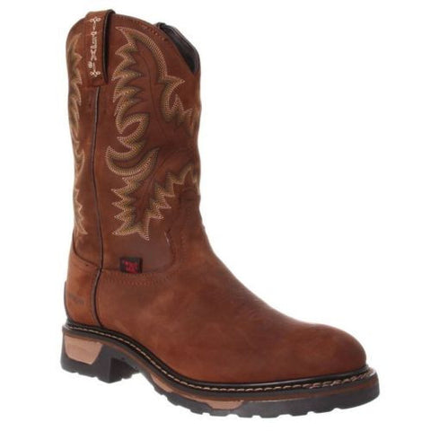 Tony Lama Men's Tan Cheyenne Waterproof TLX Steel Toe Work Boot TW1019 - Wild West Boot Store - 1