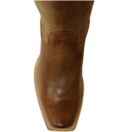 Nocona Ladies Old West Tan Fashion Western Boots NL5012 - Wild West Boot Store - 5