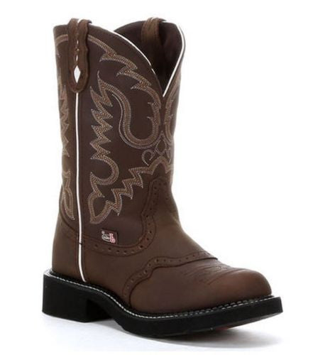 Ladies Justin Gypsy Aged Bark Boots L9909 - Wild West Boot Store - 1