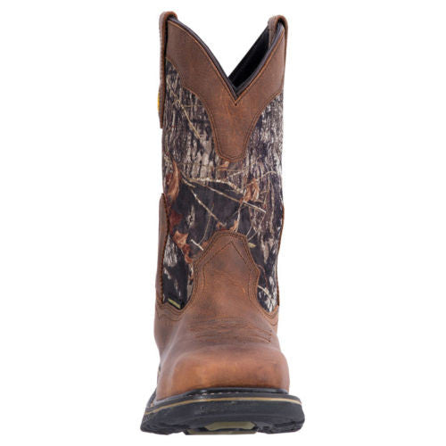 Dan Post Men's Brown/Camo Work Boot DP69408 - Wild West Boot Store - 3