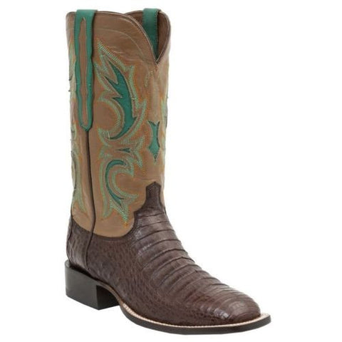 Lucchese Men's Since 1883 Western Shiloh Cigar Caiman Belly M2678 - Wild West Boot Store