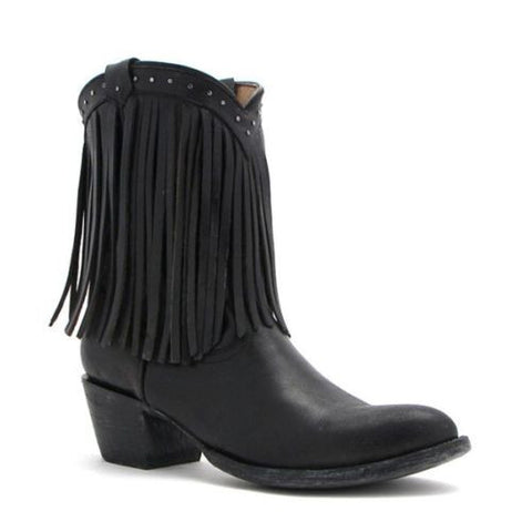 Yippee Ki Yay by Old Gringo Sweet & Spice Fringe Boot YPK91 - Wild West Boot Store - 1