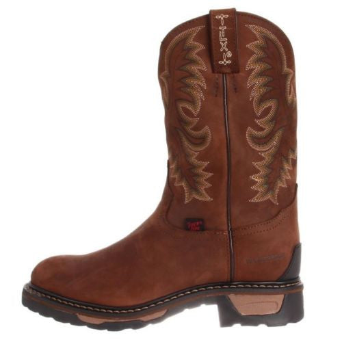 Tony Lama Men's Tan Cheyenne Waterproof TLX Steel Toe Work Boot TW1019 - Wild West Boot Store - 4