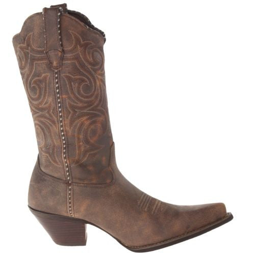 Durango Ladies Brown Embroidered Boot RD5444 - Wild West Boot Store - 3