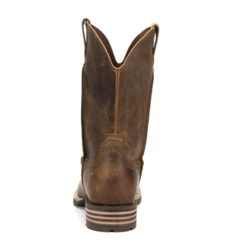 Ariat Men's Hybrid Street Side Powder Brown Boots 10016289 - Wild West Boot Store