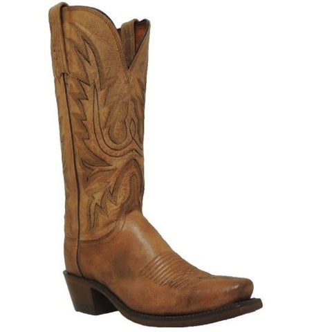 Lucchese Ladies Mad Dog Goat Leather Western Boots N4540.74 - Wild West Boot Store - 1