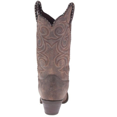 Durango Ladies Brown Embroidered Boot RD5444 - Wild West Boot Store - 4