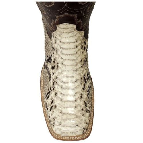 Cowtown Men's Square Toe Python Boot Q818 - Wild West Boot Store - 6