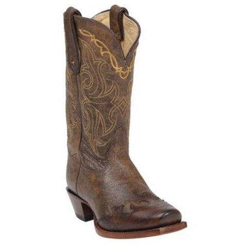 Tony Lama Ladies Vaquero Bark Santa Fe Cowboy Boots VF6004 - Wild West Boot Store - 1