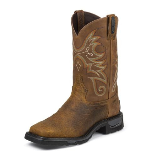 Tony Lama Men's Tan Sierra Badlands Composition Toe Boot TW4006 - Wild West Boot Store - 2