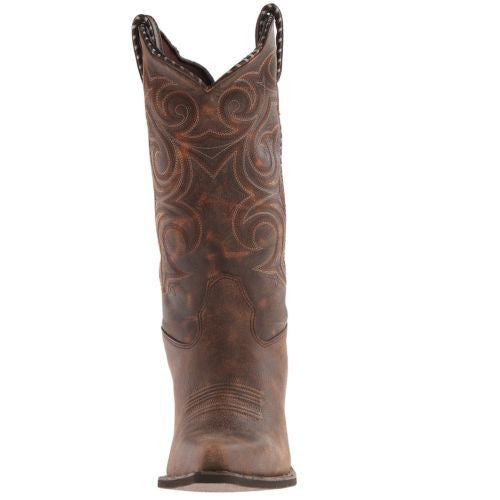Durango Ladies Brown Embroidered Boot RD5444 - Wild West Boot Store - 2