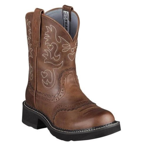 Ariat Ladies Fatbaby Saddle Boot 10000860 - Wild West Boot Store - 1