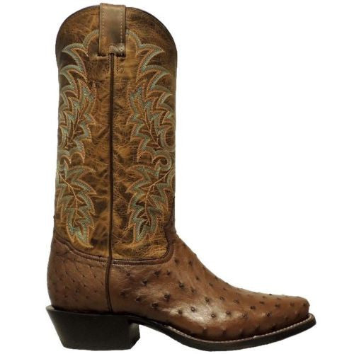 Tony Lama Men's Brown Ostrich Boot Y2696 - Wild West Boot Store - 2