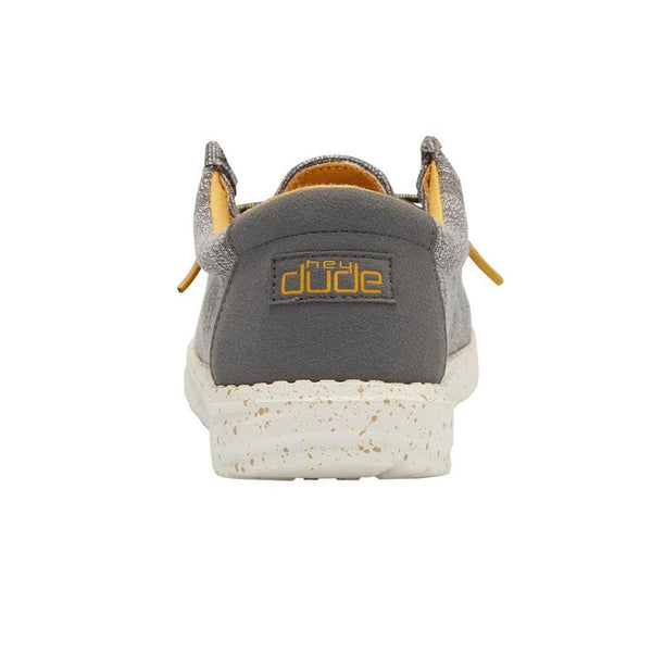 Hey Dude Children's Wally Stretch Taupe Shoes 130131555