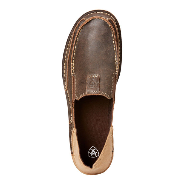 Ariat Men's Cruiser Vintage Bomber Brown Slip-On Shoes 10023208 - Wild West Boot Store