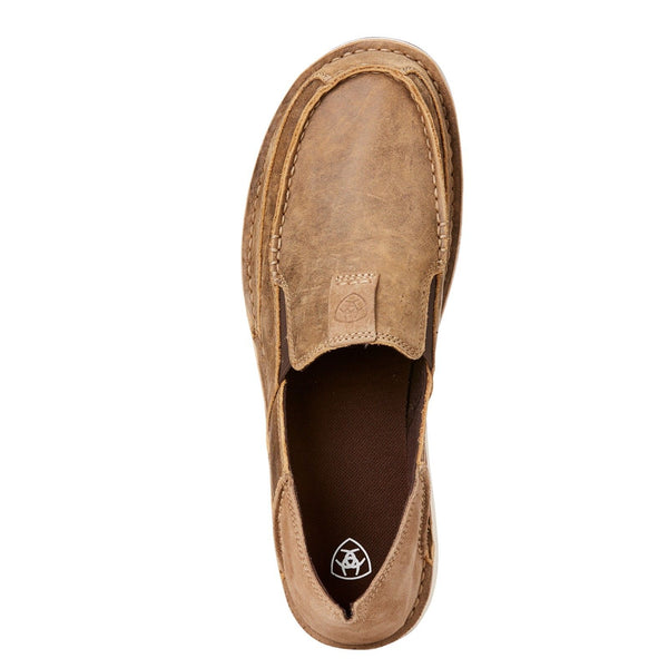Ariat Men's Cruiser Bomber Brown Slip-On Shoes 10023210 - Wild West Boot Store