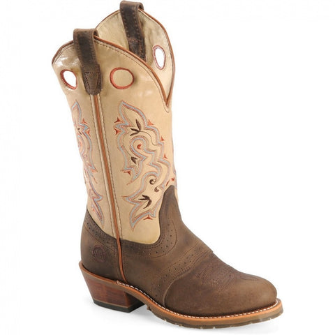 Double H Ladies Tan Round Toe ICE Boots DH5255 - Wild West Boot Store