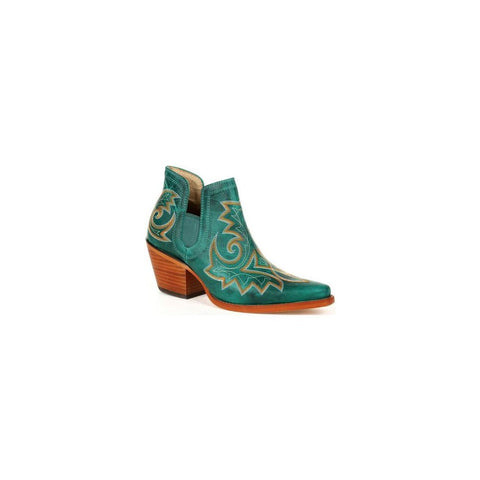 Durango® Ladies Crush Turquoise Western Fashion Bootie DRD0400