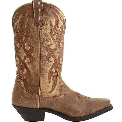 Laredo Ladies 	 Maricopa Tan Crackle Boot 51041 - Wild West Boot Store - 3