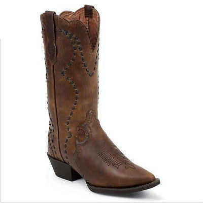 Justin Ladies Tan Vintage Buffalo Boots L2700 - Wild West Boot Store - 1