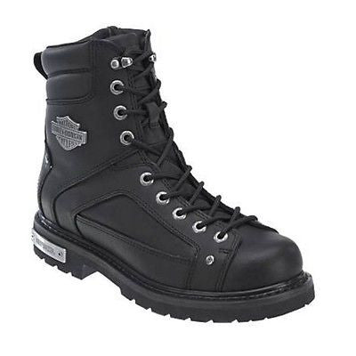 Harley Davidson Men's Black Abercorn Boot D93340 - Wild West Boot Store - 1