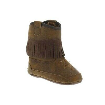 Blazin Roxx Toddler Brown Annabelle Baby Bucker Boots 4421802