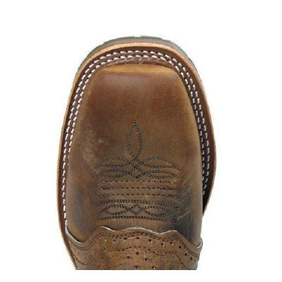 Double-H Men's Domestic Square Toe ICE Roper DH3560 - Wild West Boot Store - 3