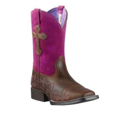 Ariat Children's Crossroads Western Boots 10011892 - Wild West Boot Store