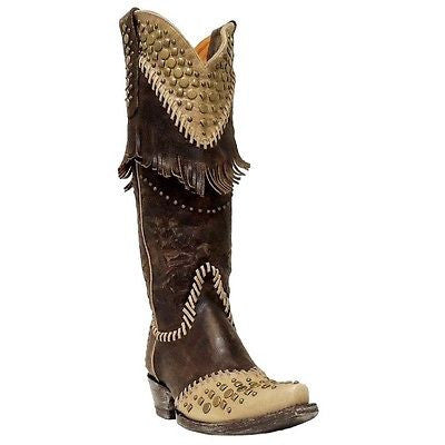 Old Gringo Ladies Brass/Bone Tableta Boot L2248-1 - Wild West Boot Store - 1