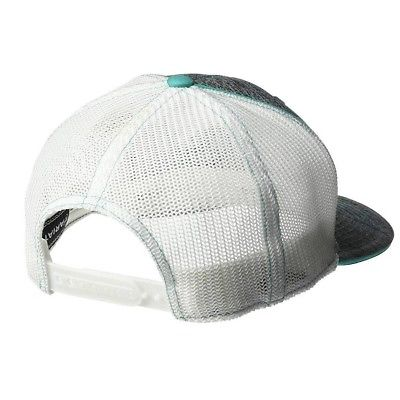 Ariat® Heather Grey & Teal Logo Embroidered Mesh Snapback Ball Cap 1504933 - Wild West Boot Store