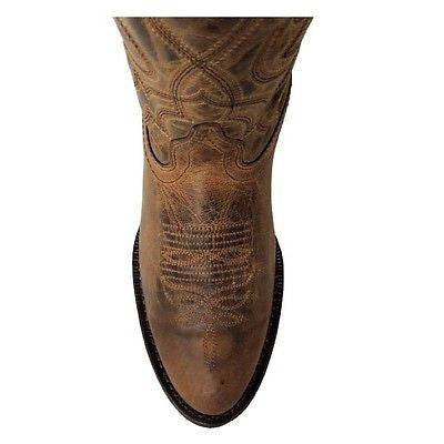 Laredo Ladies Brown Embroidered Boot 51112 - Wild West Boot Store - 4