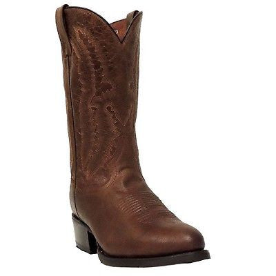 Dan Post Men's Cash Cognac Leather Boot DP2407 - Wild West Boot Store - 1