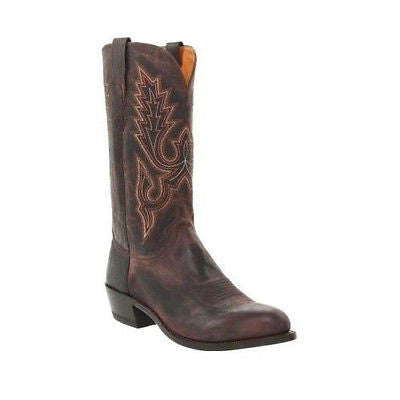 Lucchese Chocolate Madras Goat M1002.R4 - Wild West Boot Store - 1
