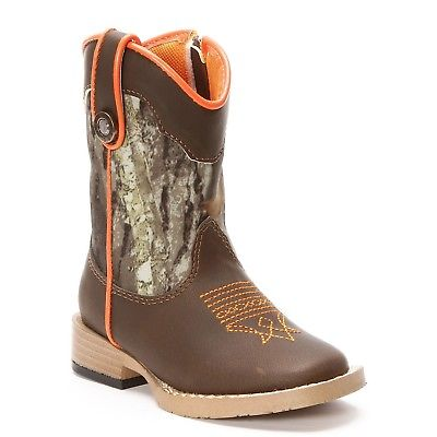Double Barrel Toddler/Children's Buckshot Camo Boots 44418222