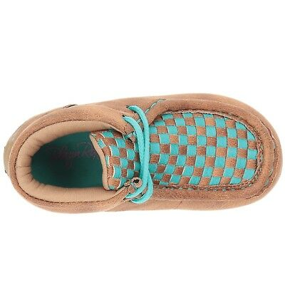 Blazin Roxx Children's Cassidy Brown & Teal Moccasins 4441102