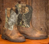 Ariat Children's Heritage Sierra Camo Pull On Boot 10006747 - Wild West Boot Store - 5