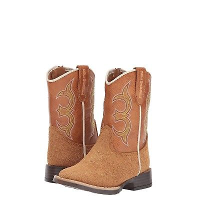 Double Barrel Toddler/Children's Rhett Brown Boots 4410048