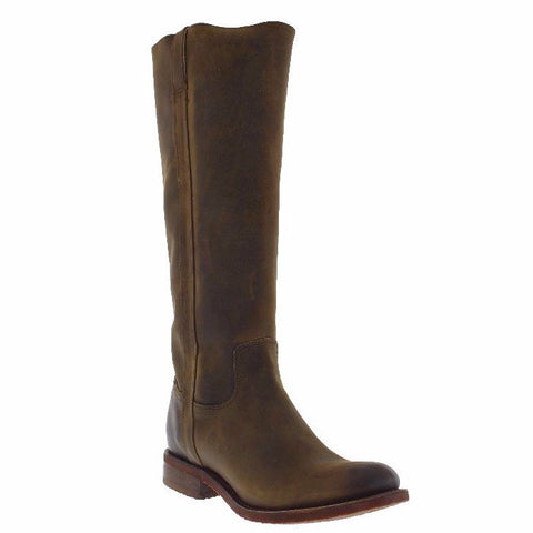 Justin Ladies Bay Apache Zipper Knee-high Boots MSL501 - Wild West Boot Store - 1